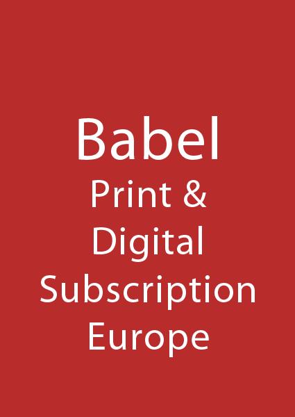 Babel Europe Individual Subscription - Print & Digital